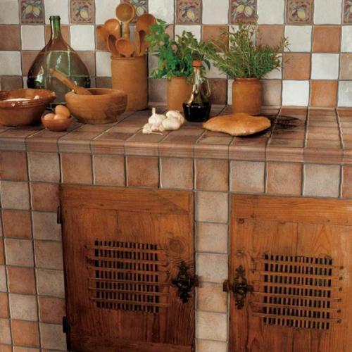 pločice na kuhinjskoj radnoj površini